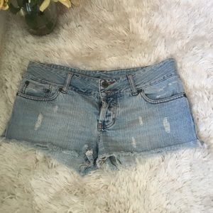 Taunt/ Juniors washed Denim Shorts,  Low waist